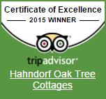 Hahndorf Oak Tree Cottages on Trip Advisor