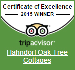 Hahndorf Oak Tree Cottages on Trip Advisor